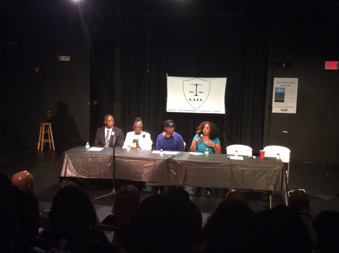 7/20/2015 Panel Discussion with Georgia Ferrell ( mother of slain victim of police misconduct Jonathan Ferrell)